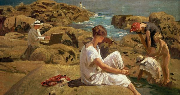 On The Rocks_Laura Knight